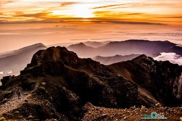 Wschód słońca na Lombok - zdjęcia z Indonezji