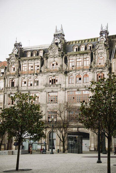 Budynki w centrum Porto