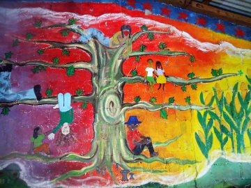 Oventik w Meksyku to wieś zapatystów - foto z podróży