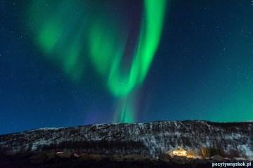 Zdjęcia z Tromso - zorza polarna