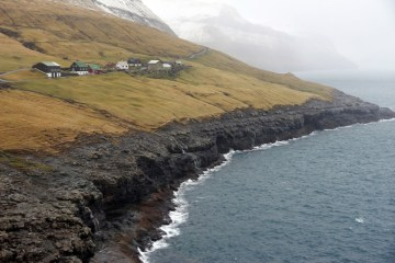 Bazaltowe klify Wyssp Owczych - foto