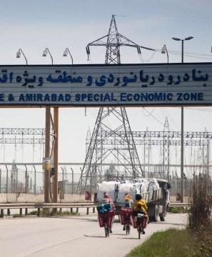 Sieć energetyczna w Iranie