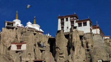 Klasztor Lamayuru w Indiach