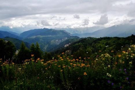 Krajobraz Swanetii