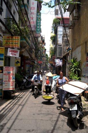 Stare miasto w Hanoi