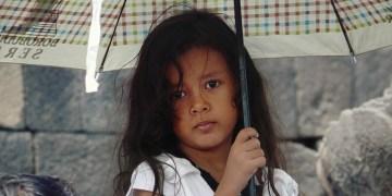 Dziewczynka z Indonezji - foto