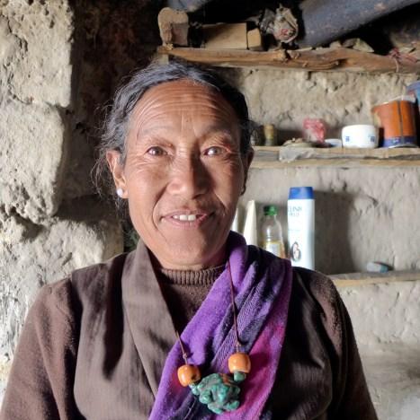 Portret Tybetanki
