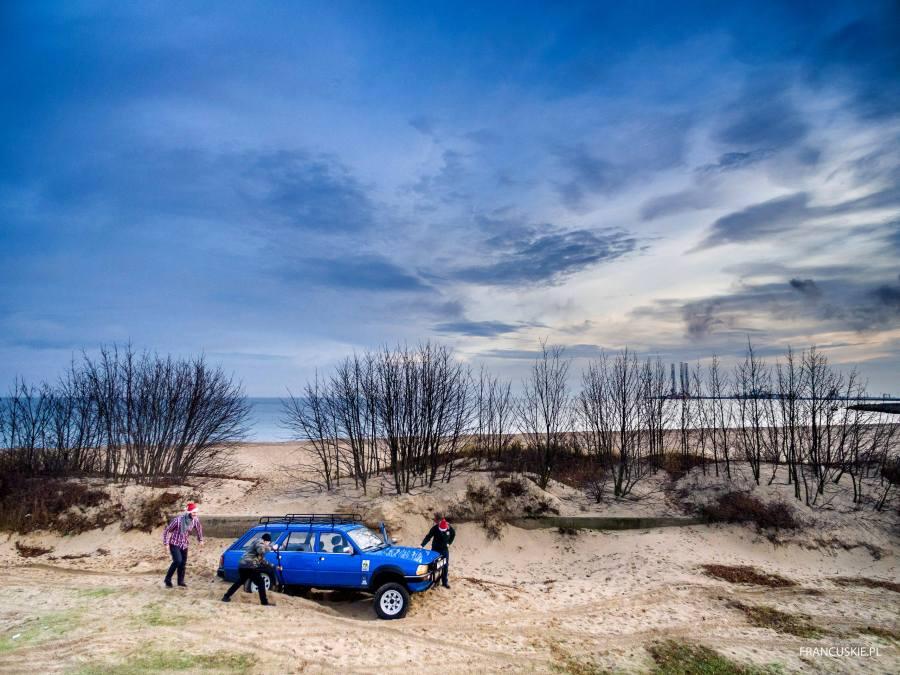 Terenowy Peugeot 505 Dangel, 4x4