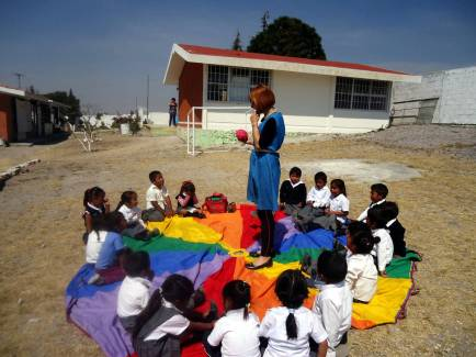 Warsztaty z dziećmi, Meksyk