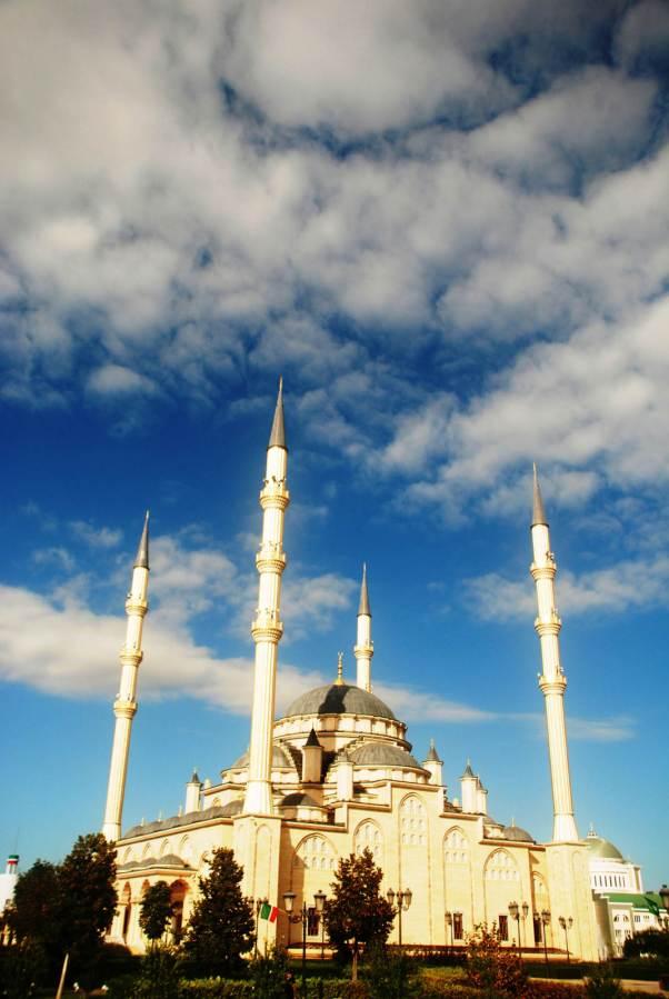 Grozny, meczet zwany Sercem Czeczeni