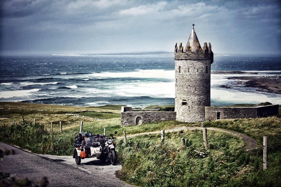 Motocyklem przez Irlandię, Fot. Mihai Barbu