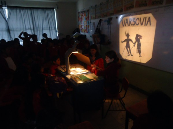 CzujCzuj w Meksyku, teatr cieni