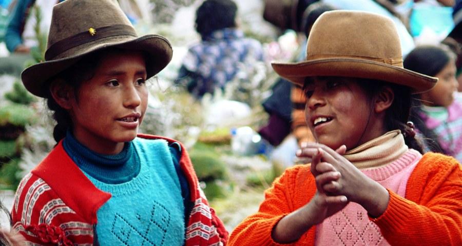Kobiety w Peru - foto