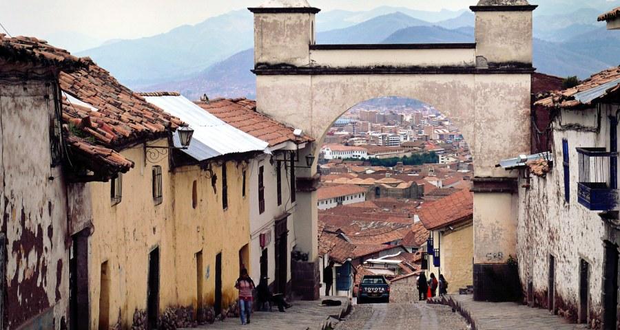 Malownicze uliczki Cuzco - zdjęcia z Ameryki Południowej