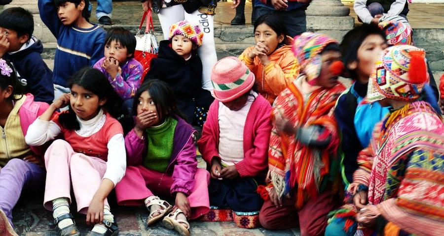 Dzieciaki z Peru - foto