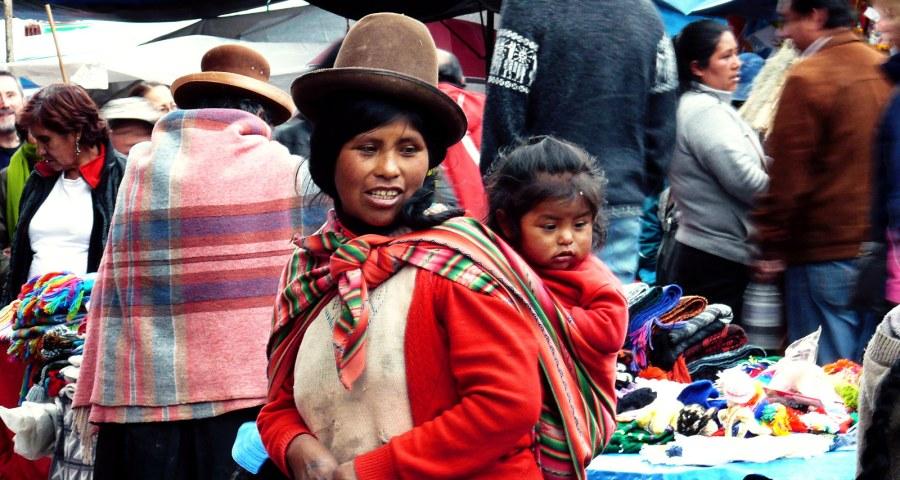 Cuzco w Peru - kobieta