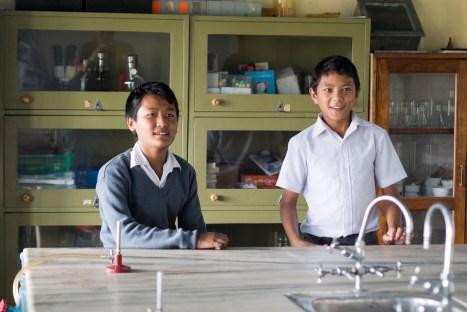 Szkoła w obozie tybetańskich uchodźców