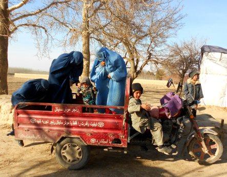 Transport w Afganistanie i tutejsze kobiety