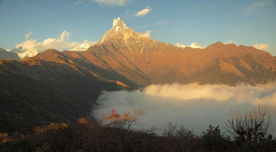 Szlak Mardi Himal w Himalajach - trekking w Nepalu