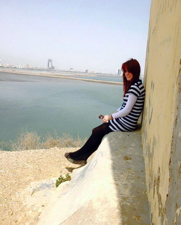 Monika Masaj w Karaczi w Pakistanie