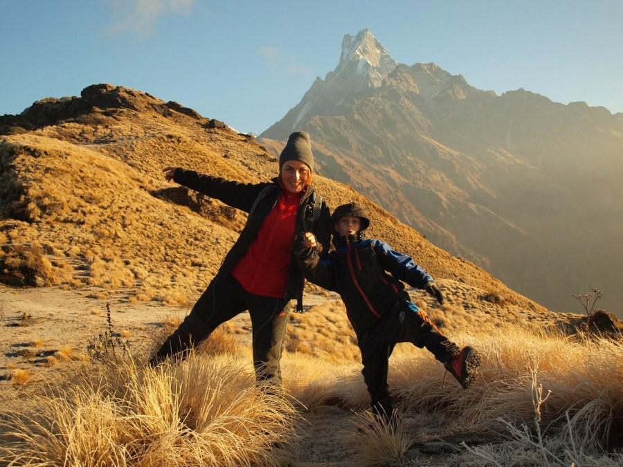 Natalia i Maks Tokarczyk w Himalajach