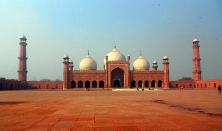 Meczet Badakhshi w pakistańskim Lahore. (Fot. Monika Masaj)