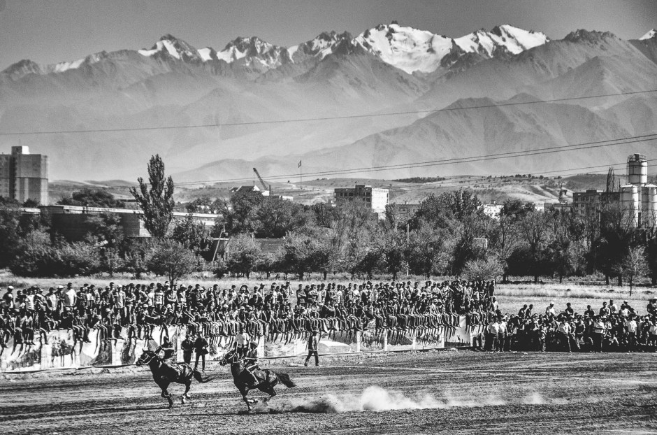 Kirgistan, reportaż z buskaszi, Jakub Rybicki