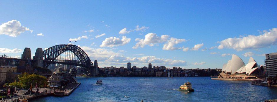 Panorama Sydney - tu się fajnie mieszka