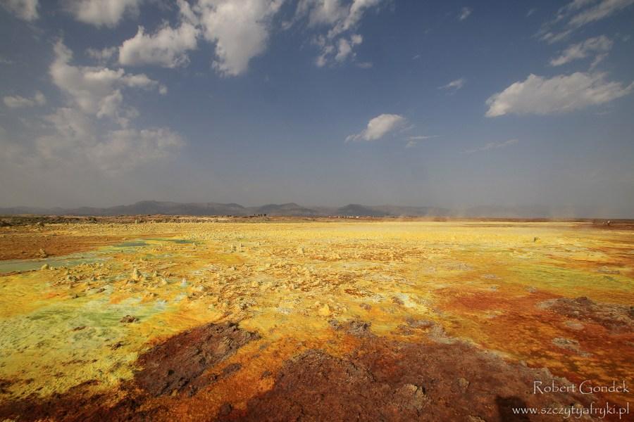 Krajobrazy Etiopii - zdjęcia Roberta Gondka