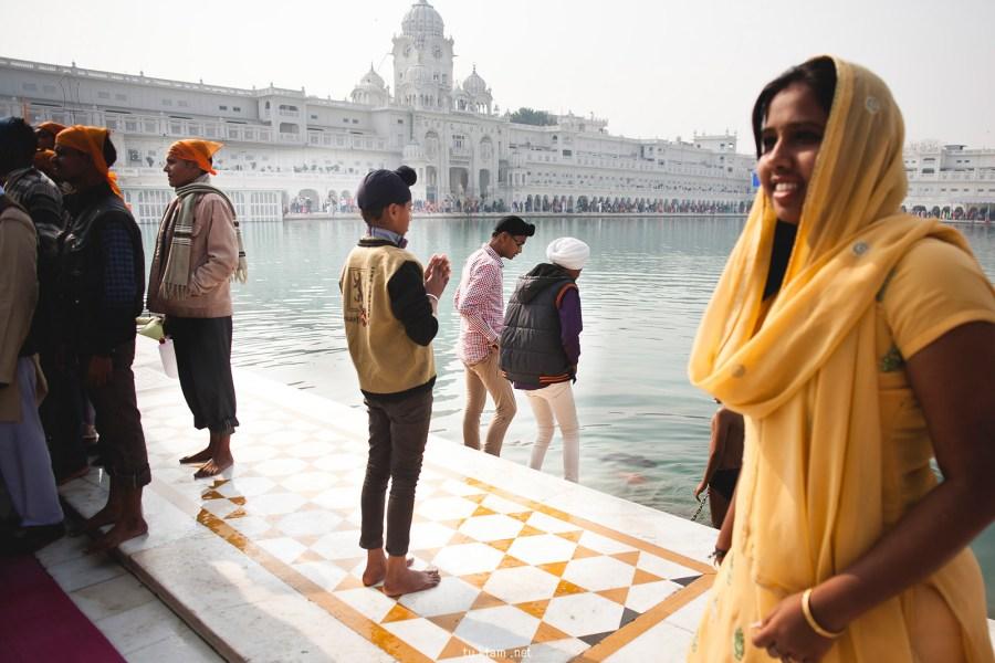 Zdjęcia z podróży do Indii, Amritsar