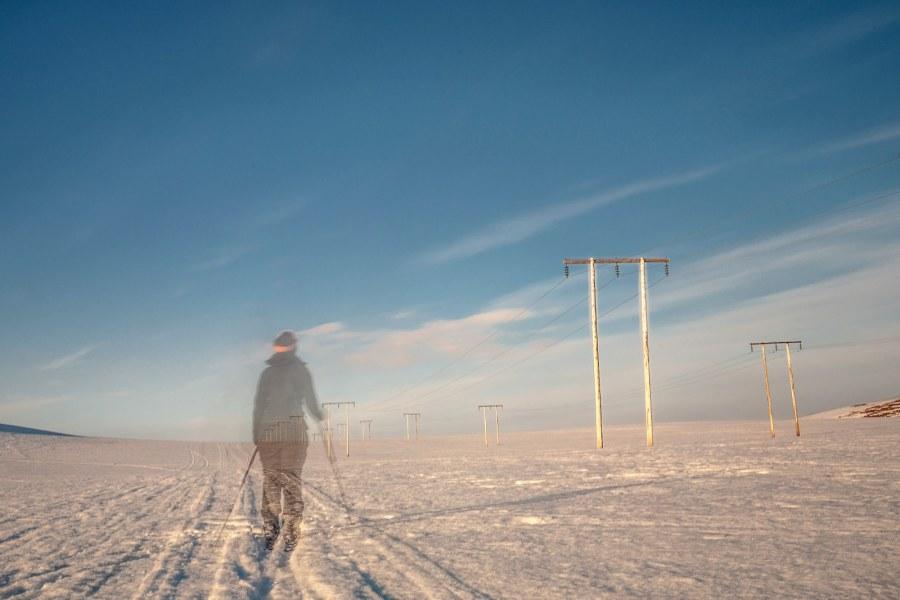 Podróż przez Laponię na nartach