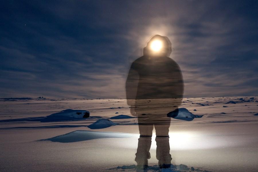 Północna Europa zimą - płaskowyż Finnmarksvidda