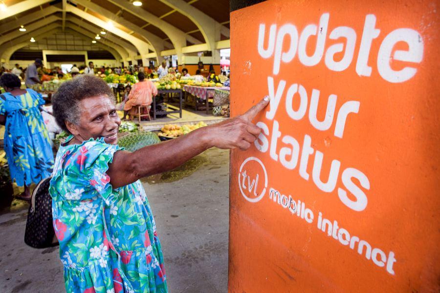 Port VIlla, Vanuatu, South Pacific) - Update your status