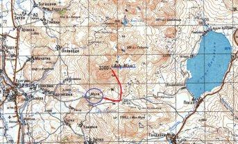 Radzieckie mapy Gruzji, Didi Abuli