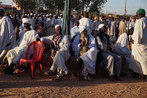 Sufici w Omdurmanie, zdjęcia z podróży do Sudanu