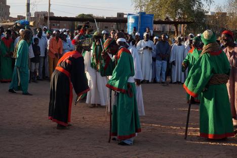 Sudan, taniec sufitów w Omdurmanie