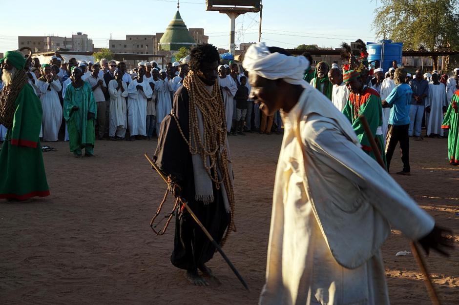 Omdurman, transowy taniec sufitów