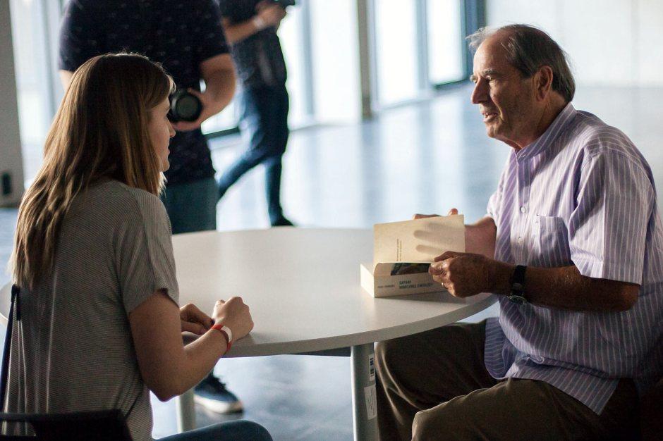 Spotkanie Paula Theroux z czytelnikami