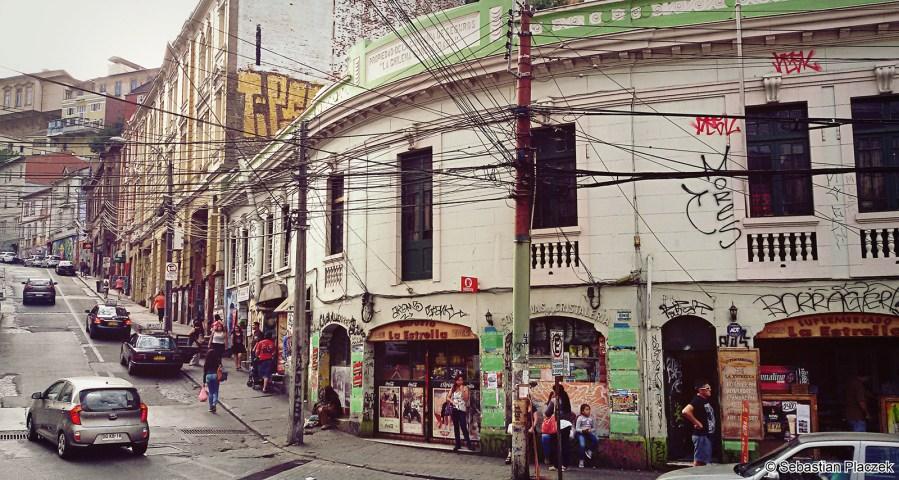 Ameryka Południowa, Valparaiso w Chile