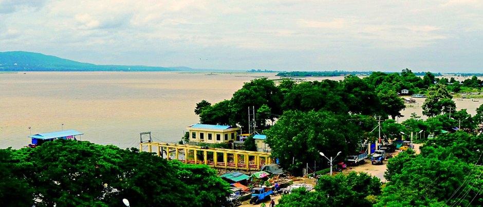 Birma, powódź na Irawadi