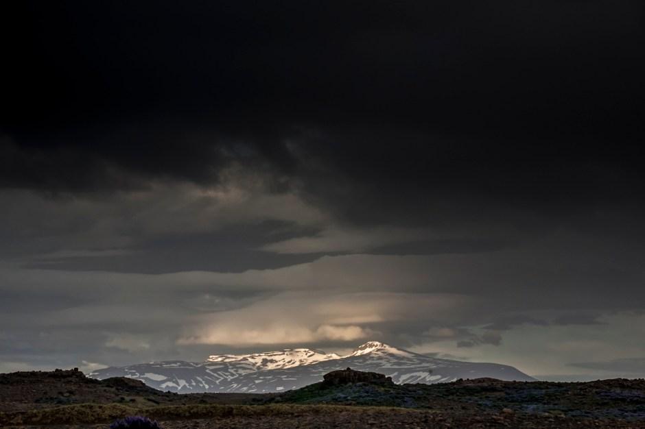 Krajobraz Islandii, Langjokull - foto