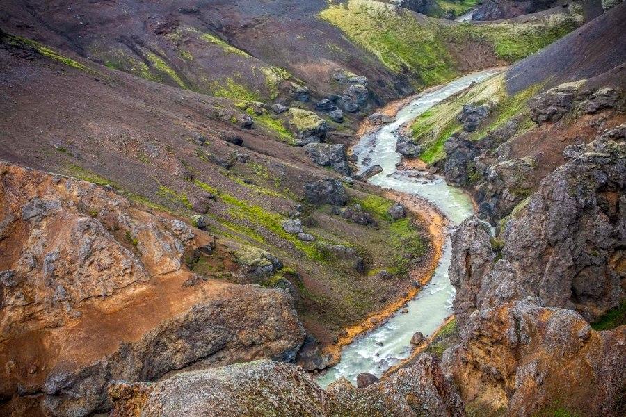 Wąwóz w Kerlingarfjoll na Islandii - piesza podróż Kasi Nizinkiewicz