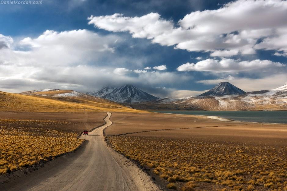 Boliwia, droga przez płaskowyż Altiplano