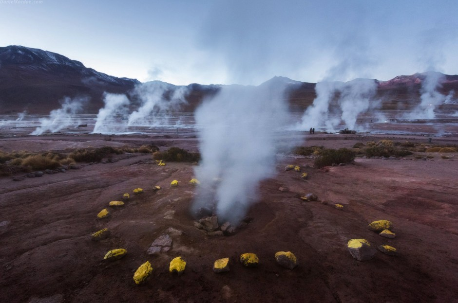 Boliwia, gejzery na Salar de Uyuni, foto