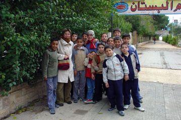 Mieszkańcy Syrii. (Fot. Paweł Stężycki)