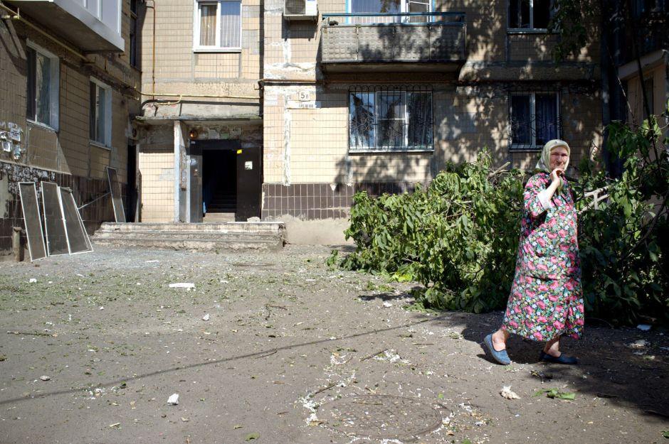 Po północy w Doniecku, zdjęcia do ksiązki - Julia Wizowska
