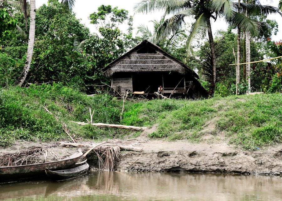 Wieś na indonezyjskiej wyspie Siberut