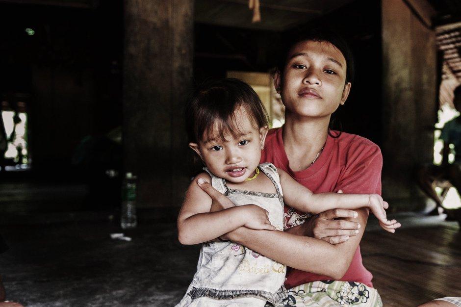 Życie Mentawajów, zdjęcia z wyspy SIberut w Indonezji