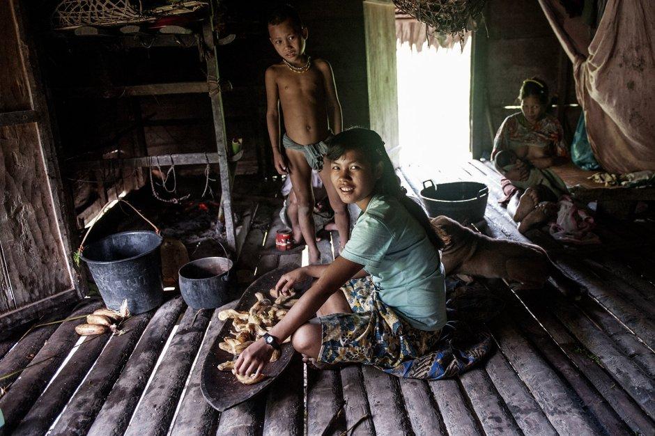 Życie codzienne Mentawajów, zdjęcia z podróży na wyspę Siberut