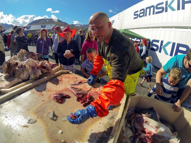 Islandia, Fiskidagurinn Mikli - święto ryby w Dalvik
